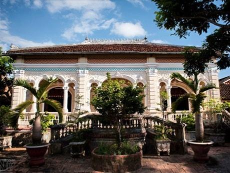 L'ancienne maison Cai Cuong-min