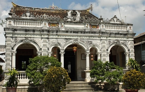 L'ancienne maison Huynh Thuy Le-min