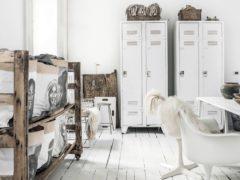 Armoire style loft industriel